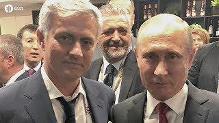 Mourinho Meets Putin #TWAMAN