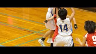 福岡市 バスケットボール市大会 2位パート決勝戦 壱岐中 VS 原北中