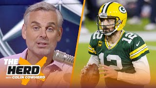 Colin Cowherd reacts to Aaron Rodgers showing up to training camp in Green Bay | NFL