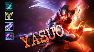 Yasuo TOP | First Blood | Get Out And Let Me Farm | Build And Play | League Of Legend
