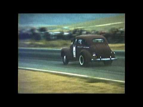 1959 RIVERSIDE RACEWAY willys sedan wheelie total