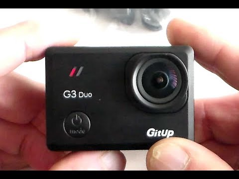 GitUp G3 Duo BIG Test - Camera - Slave Camera- GPS Logger - Test Clips