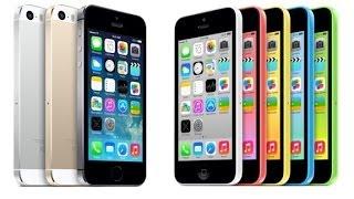 Презентация iPhone 5S и iPhone 5C-Русский перевод