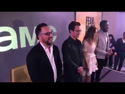 Alycia Debnam Carey and Colman Domingo - Press Conference FearTWD in Mexico City