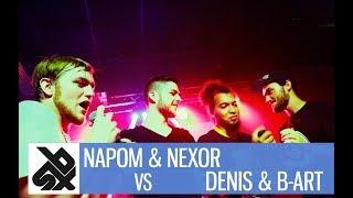 Video NAPOM&NEXOR  vs DENIS&B-ART| Fantasy Beatbox Battle 2017 | FINAL download MP3, 3GP, MP4, WEBM, AVI, FLV Agustus 2017