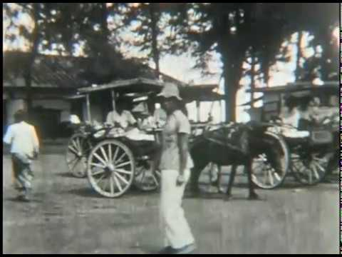 Dutch East Indies (Indonesia): 1939 Trip around the World (Part 4 of 10)