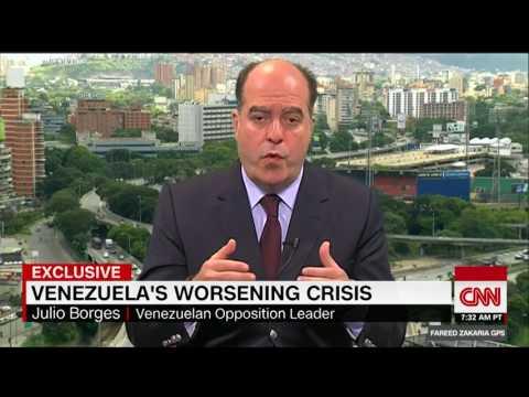 On GPS: Venezuelan opposition leader