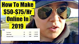 (2019) How To Make Money Online - Get Paid Daily!