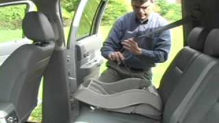 Car Seat Installation:  Evenflo Embrace 5 Convenience Base
