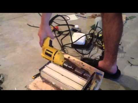Amazing Home Made Vertical Shredder Hydraulic Doovi
