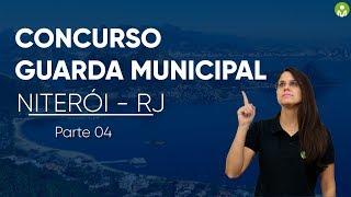 Prova Comentada - Guarda Civil Municipal de Niterói - RJ I Parte 04