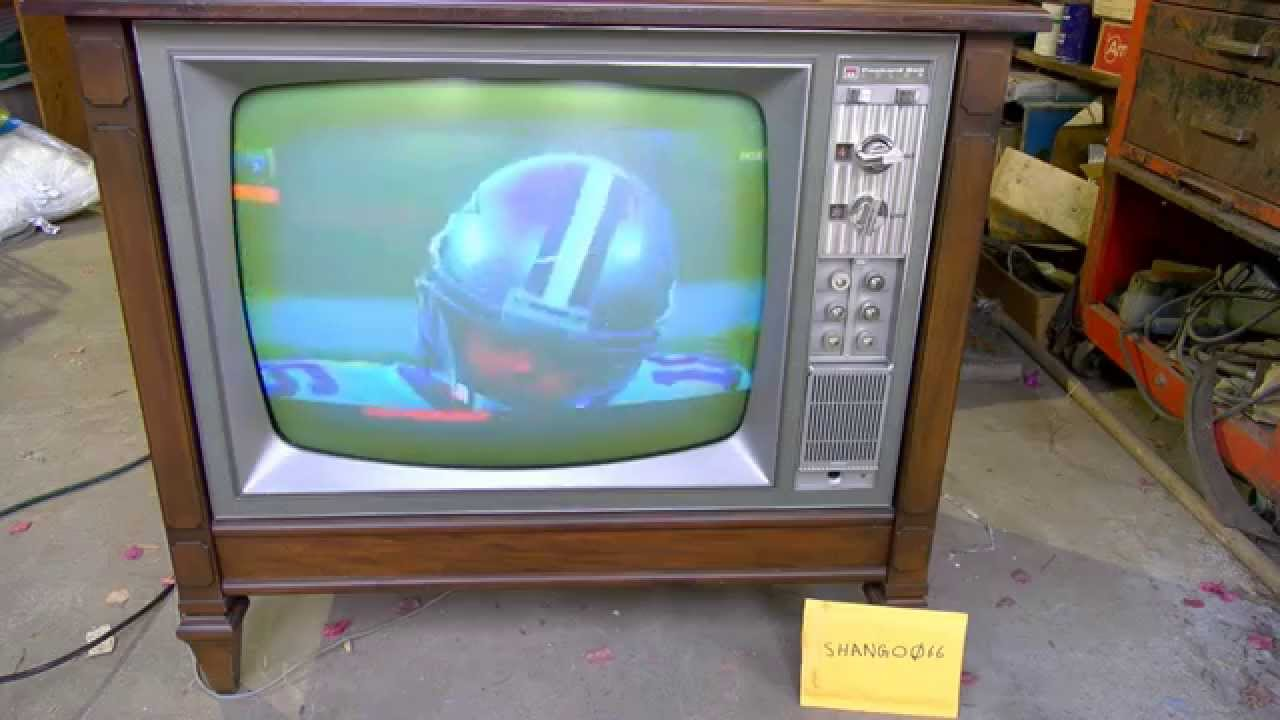 Nos 1968 Packard Bell Color Television 4k