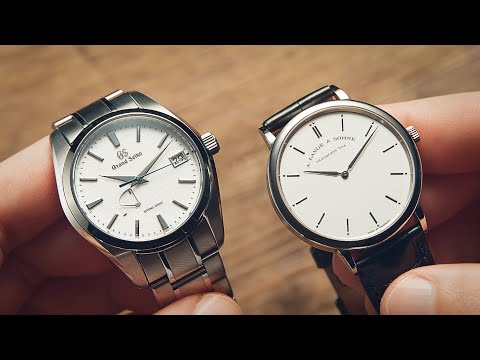 Grand Seiko Vs A. Lange \u0026 Söhne Dials   Watchfinder \u0026 Co.