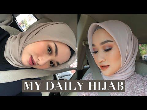 Hijab Tutorial Paris Segi Empat Modern Dan Simple