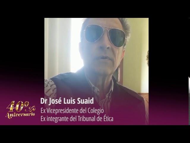 Dr José Luis Suaid
