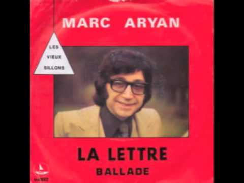 Marc Aryan - La Lettre