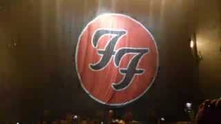 Foo Fighters Bologna inizio concerto Everlong 13 NOVEMBRE 2015
