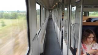 Польша. Поезд Варшава - Прага. Polska. Train Warszawa - Prague.