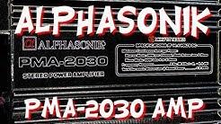 Old School Alphasonik PMA-2030 Amp Overview - OldSchoolStereo.com