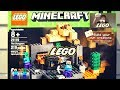THE DUNGEON LEGO MINECRAFT Set 21119 Review Unboxing With Time Lapse mp3