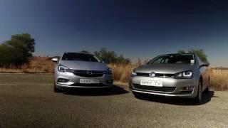 Comparison: Opel Astra 1.4T Enjoy AT vs VW Golf 1.4 TFSI Comfortline
