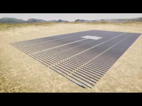 Concentrated Solar Power in Shirin (Uzbekistan)