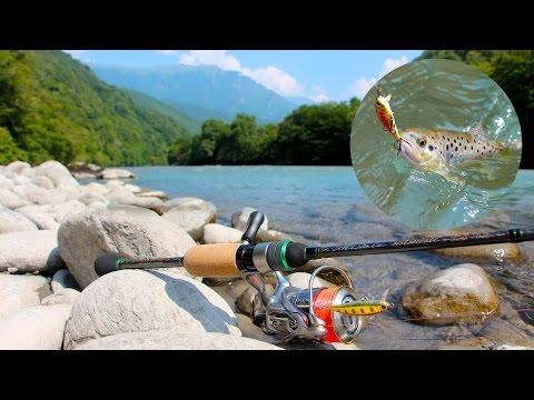 Форелевый марафон с Maximus Midori Stream. Abkhazia stream fishing.