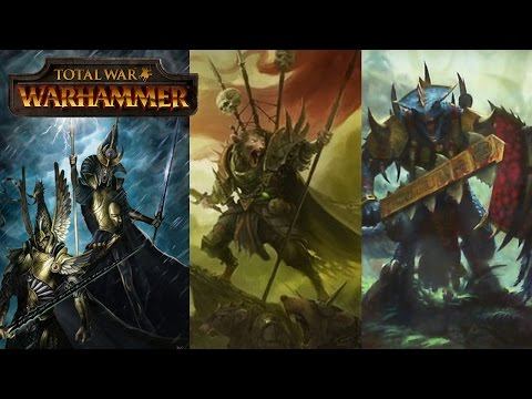 Total War Warhammer Trilogy – Game 2 News, Speculation, Lore, Playable Races and Naval Combat
