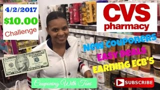 CVS $10 Challenge 4/2/2017 | Very Detailed For New Couponers
