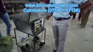 RFID based automatic advanced man following shopping trolley in super market