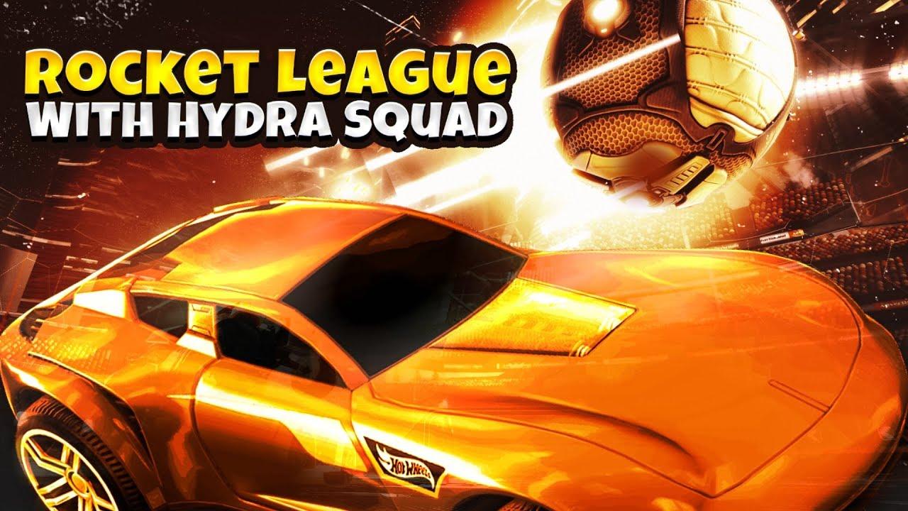 ROCKET LEAGUE LIVE WITH DYNAMO GAMING   HYDRA VS HYDRA