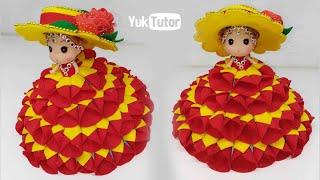 Ide Kreatif - Cara Hias Boneka Menjadi Cantik Dari Kain Flanel    Doll Decorations    Handmade