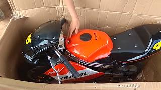 Khui thùng xe moto mini 50cc giá từ 2.5 đến 5 triệu.