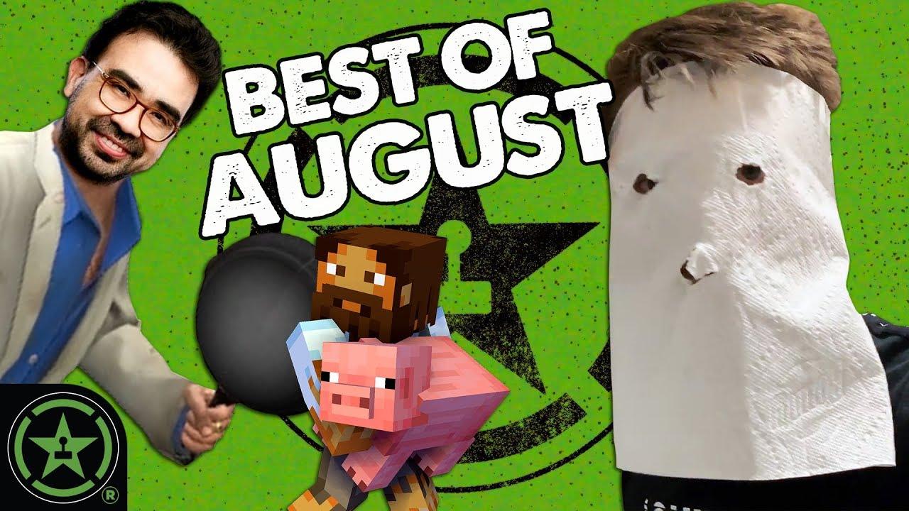 August 2019 Highlights - Best of Achievement Hunter