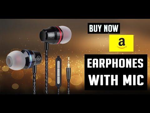 Best Earphones / Earbuds With Mic  2019 | Amazon Best Buyers