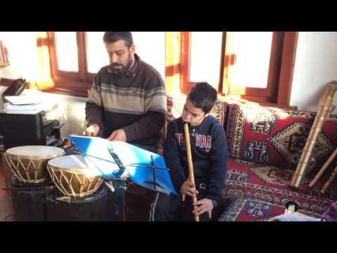 Genç Neyzen Yasin Ahi & Rast Peşrev Meşki - Ney Dersleri