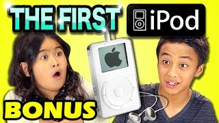 KIDS REACT TO 1ST iPOD (Bonus # 133)