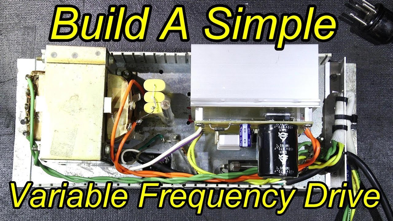 build a simple vfd or variable frequency drive  [ 1280 x 720 Pixel ]