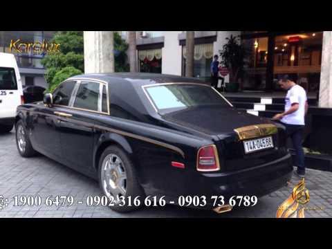 Sieu xe Quang Ninh | Bộ đội siêu xe Phantom & Range Rover MẠ VÀNG 24K tại Việt Nam 2014