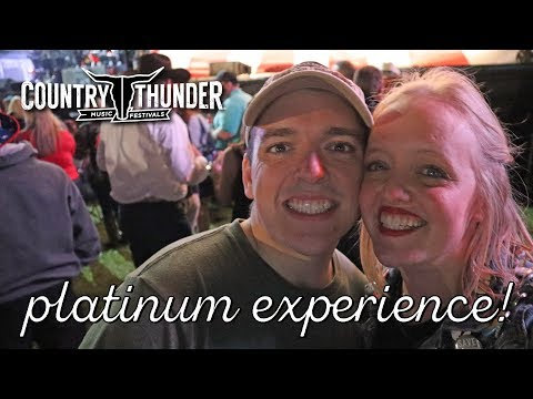 Welcome To Country Thunder Florida 2019! | Campsite Tour & VIP Access | Toby Keith