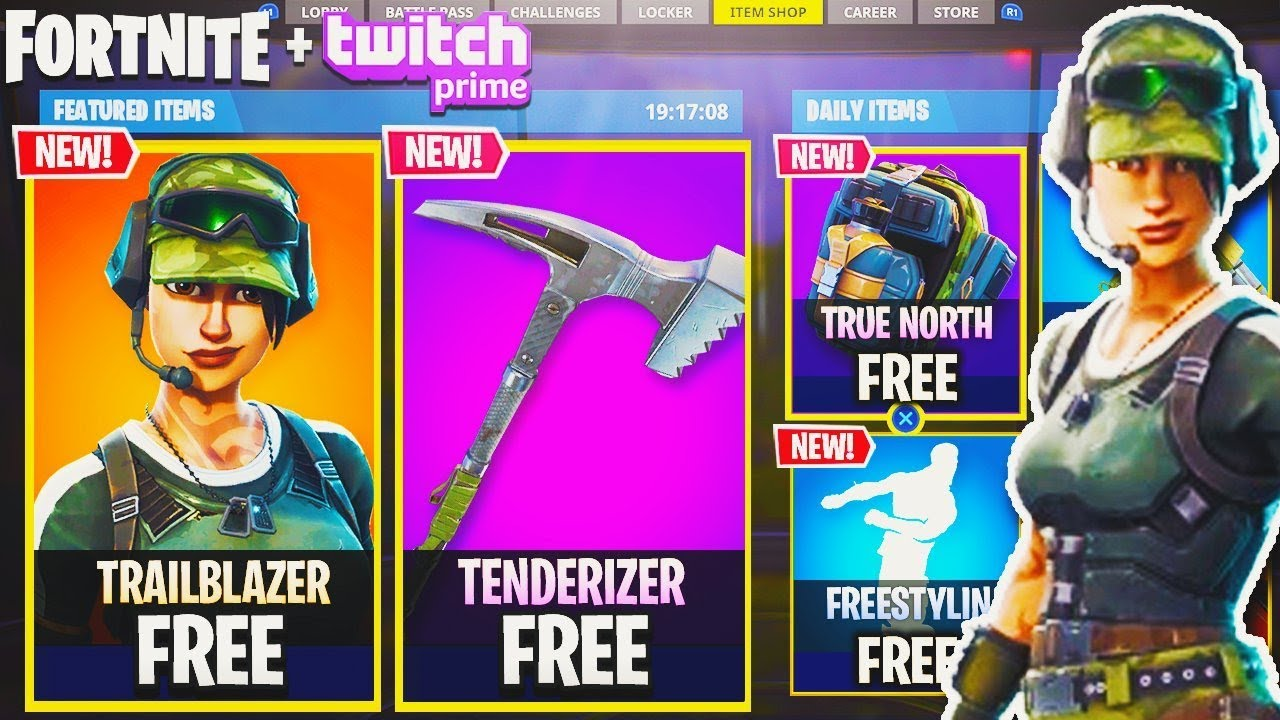 NEW Twitch Prime FREE SKINS in Fortnite! - Exclusive ...