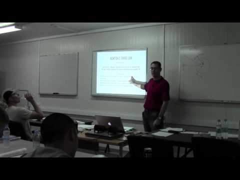 Newton's Laws and Momentum and Energy