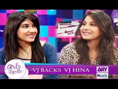 Girls Republic | VJ Hina | VJ Backs  | ARY Musik