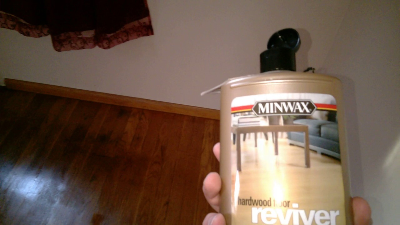 Waxing Hardwood Floors Youtube