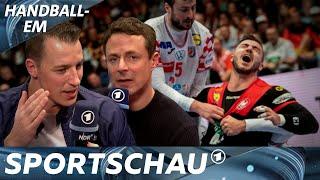 Diese Fehler kosteten den Sieg - Analyse zu Deutschland gegen Kroatien   Handball-EM   Sportschau