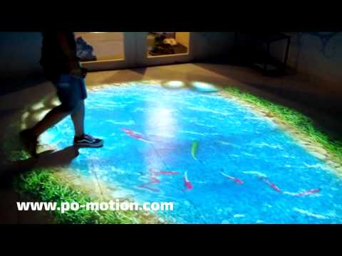 Lumo Play Interactive Floor and Wall Projection Software (formerly Po-motion)