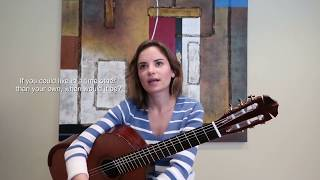 On a Side Note with Guitarist Ana Vidovic