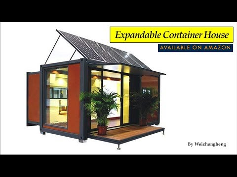 Expandable Container House Sold on Amazon by Weizhengheng