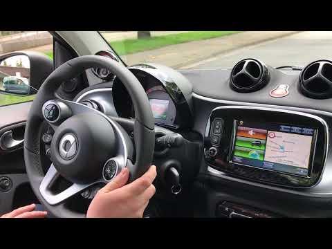 Probefahrt im neuen Smart ed electric drive 2017