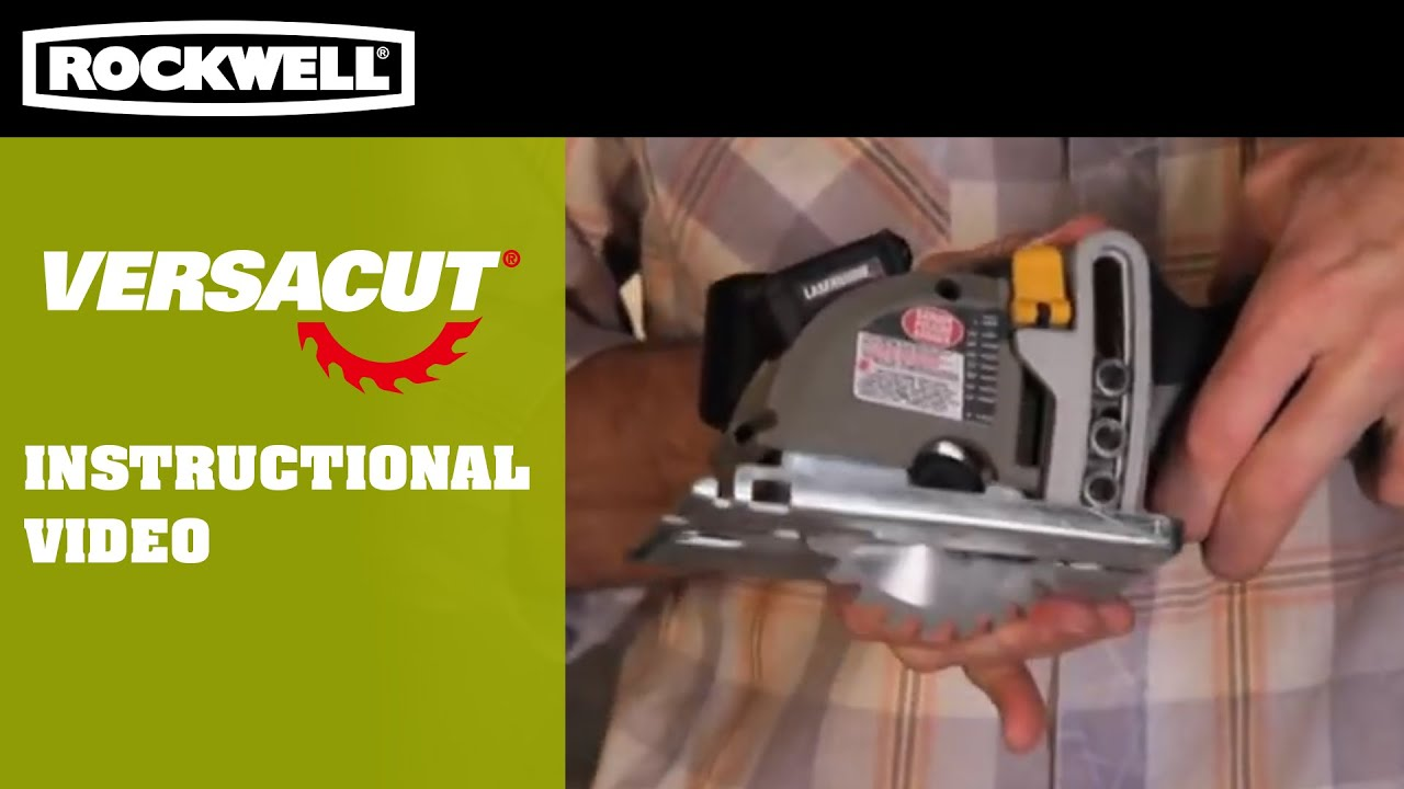 Rockwell versacut instructional video youtube rockwell versacut instructional video greentooth Images